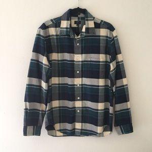 J Crew Oxford Button Up Dress Shirt